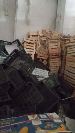 Прадаются ящики пластмассовые и деревянные  по 50 тенге за штуку