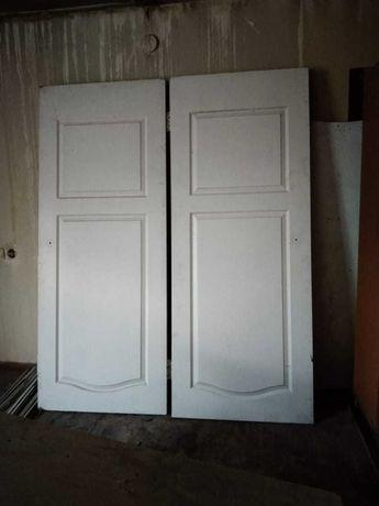 Комнатные двери  белые