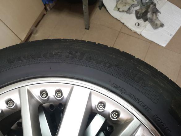 Летни гуми 235/55/18 100v дот1217 hankook ventus S1 evo 2 suv