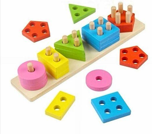 Сортер геометрические фигуры