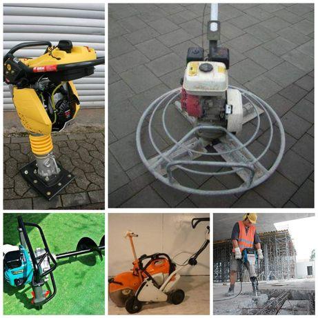 Inchiriez elicopter sape beton,burghiu pământ,placa compactoar