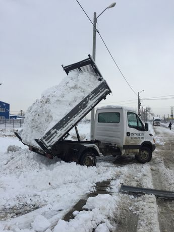 Inchiriez 3 basculante 3,5 tone-pentru deszapezire/transport zapada