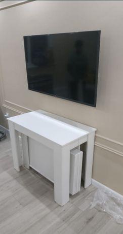 Стол трансформер собранном виде 50см,полный от 3метр до 5метров
