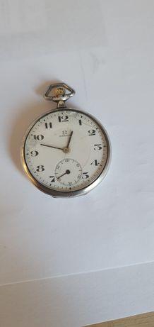 Omega argint,  ceas de buzunar vintage  , stare de funcționare