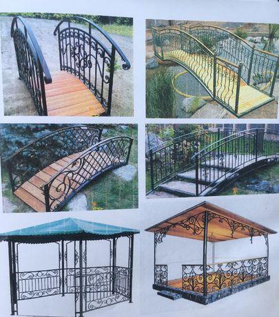 Металлические изделия. Двери, решетки, ворота, перила, оградки.