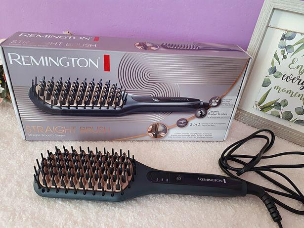 Perie electrică îndreptat părul REMINGTON-STRAIGHT BRUSH, produs NOU!