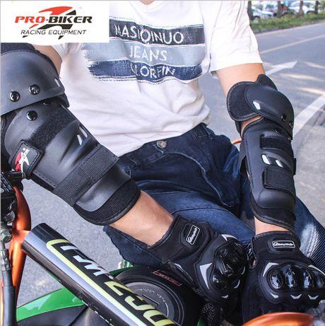 Новый комплект Мотозащита,наколенники и налокотники,шлем каска алматы