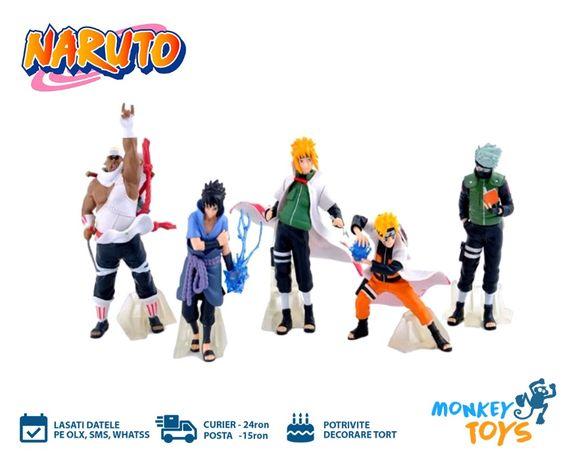 Set 5 jucarii / figurine Naruto Shippuden