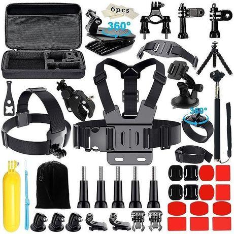 Промопакет 16 аксесоара за екшън камери gopro и други | hdcam.bg