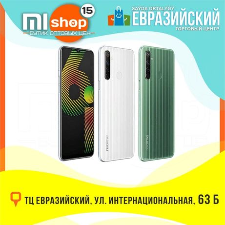 MiSHOP15 Realme 6i 64/128 (ТЦ Евразийский, 1 этаж, ул. Букетова 52)