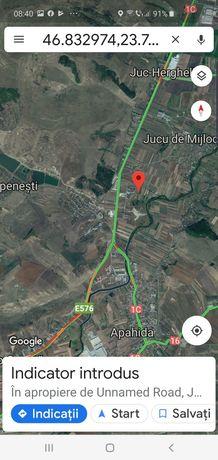 Vand teren pentru case parcelat zona Panemar ,Jucu zona case