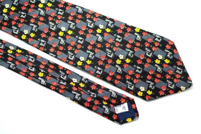 Cravata Barbati Givenchy 10 x 146 cm Flori Multicolora Matase CR144