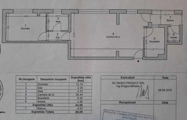 De vanzare apartament 2 camere Calea Giulesti nr. 337B