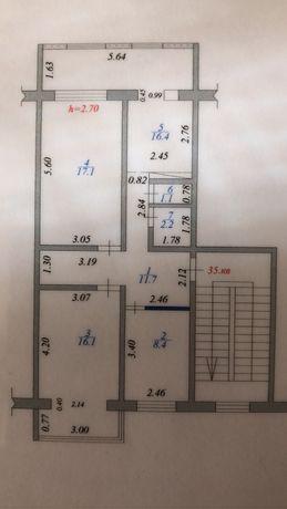 3-х ком кв 75 кв.м 3 этаж 13 мкр 26 дом