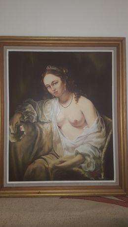 Vand tablou original pictat