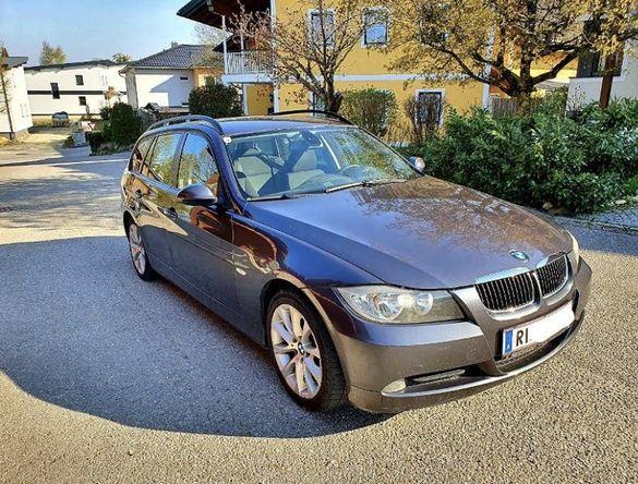 BMW E91 318д 2.0L 143кс