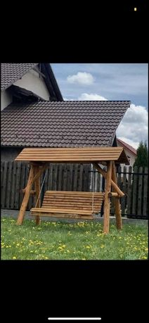 Balansoar de gradina lemn masiv