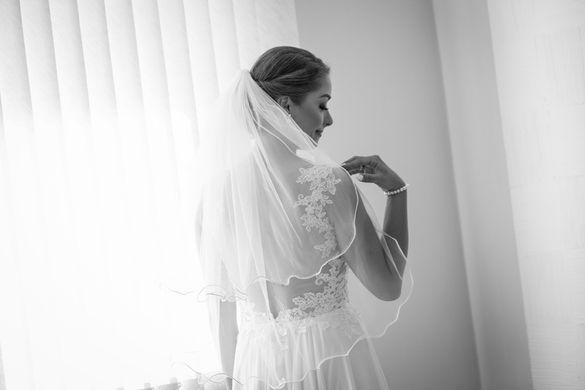 Булчинска рокля + воал подарък