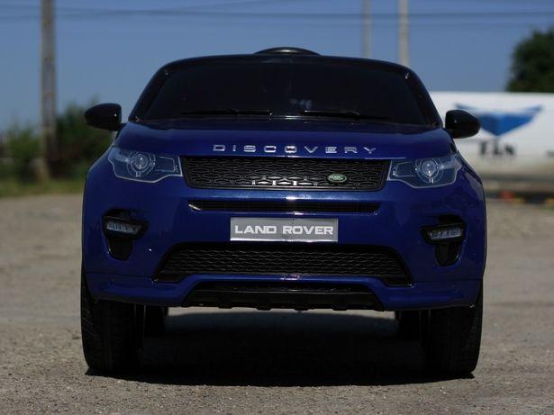 Masinuta electrica pentru copii Land Rover Discovery cu display #Blue