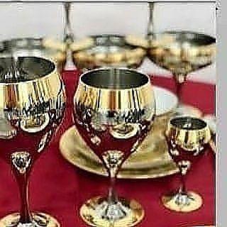 Принц бокалы для воды, для вина, для ликера. Все можно и в рассрочку.