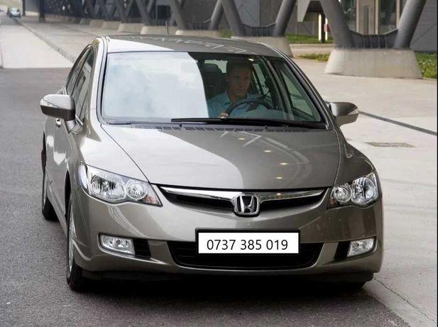 Inchirieri auto masina Rent a Car Honda Civic Hybrid Automata