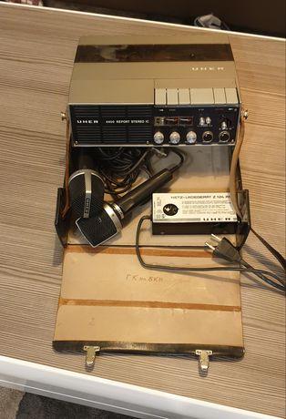 Uher 4400 report stereo ic ,2 uher m516-ролков магнетофон