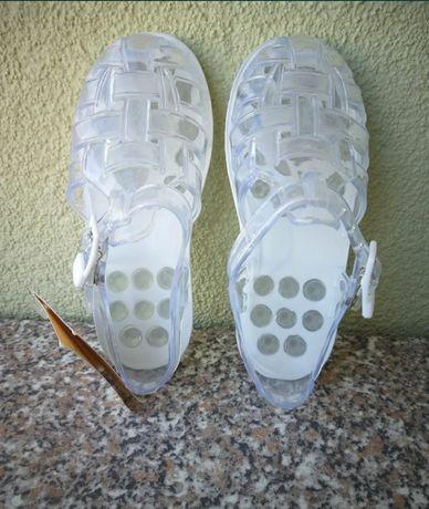 Силиконови сандалки Chicco номер 26