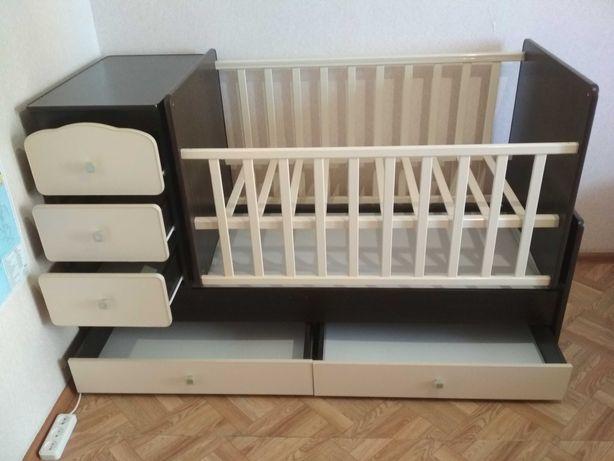 Детская кровать трансформер 3 в 1