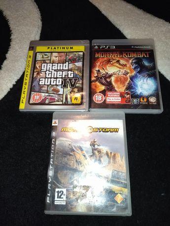 Mortal Kombat/Grand Theft Auto 4 (GTA4)/Motostorm PlayStation 3 PS3