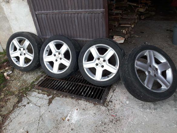 Джанти с гуми 17 Пежо 307 308