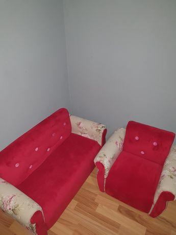 Canapea si fotoliu pentru printese