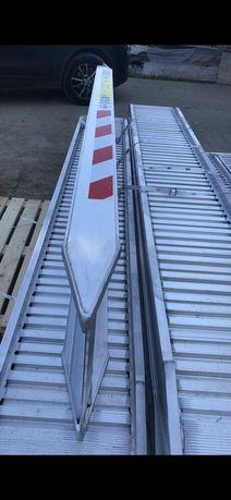 Rampe incarcare aluminiu excavatoare 1-8tone