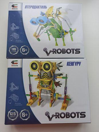 Конструктор с моторчиком Acttivio Robots lego