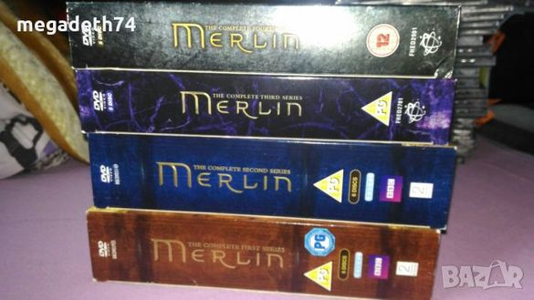 Merlin филм 4 сезона