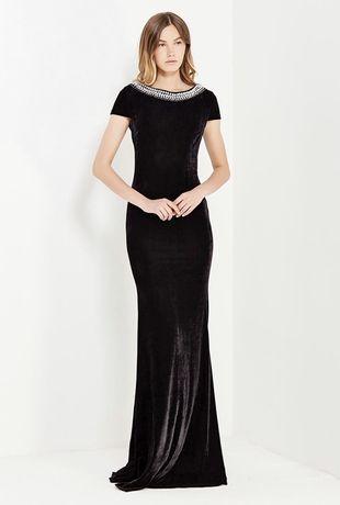 Бархатное платье. Новое