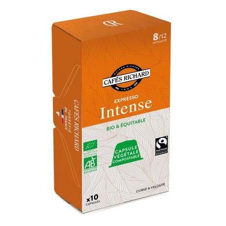 Кафе капсули за Nespresso® - Интенс - 10 бр.
