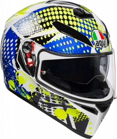 ПРОМОЦИЯ Мото Каска за мотор AGV K3 SV POP ,XS, S, M-S , M-L, L NEW