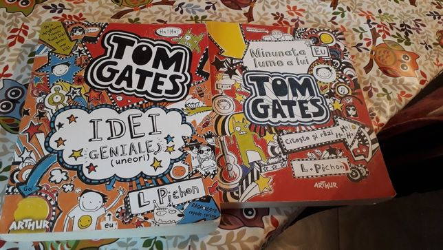 Carti Tom Gates vol 1 si 4