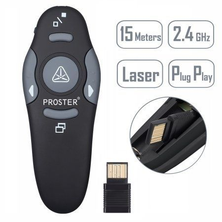 Wireless Presenter cu Cursor Control, in cutie Targus AMP16US Wireless
