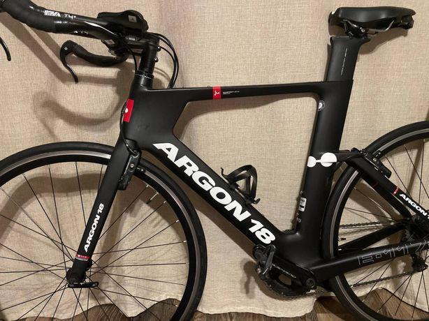 Шоссейный велосипед, велосипед ТТ, Argon 18 E-117.