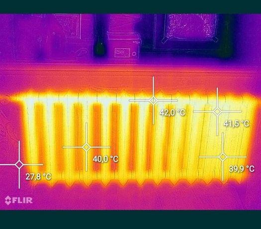 Услуги тепловизора , найду теплый пол, места потери тепла