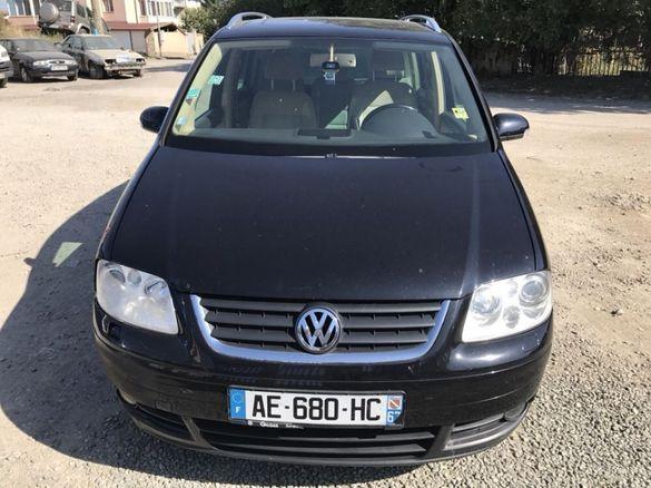 НА ЧАСТИ! VW Touran 2.0i , Ecofuel , Xenon , Фолксваген Туран Метан