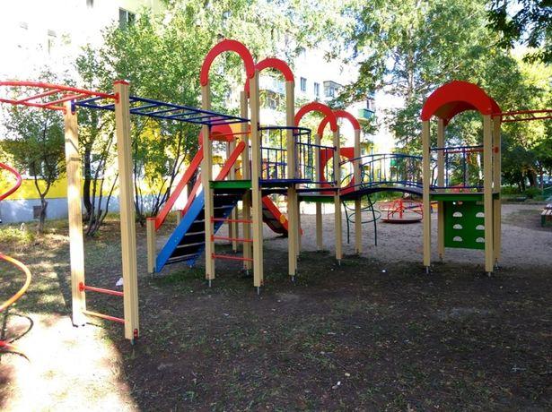 Детская Игровая Площадка, Комплекс Кызылорда(горка, песочница, качели)