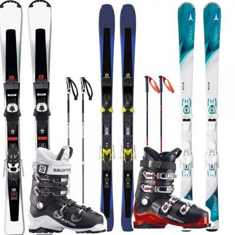 SET ski schi + clapar Incepator si intermediar la 450 lei