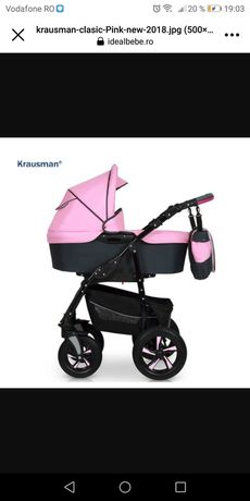 Cărucior Krausman 3 in 1