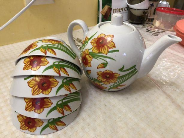 Чайный казахский сервиз