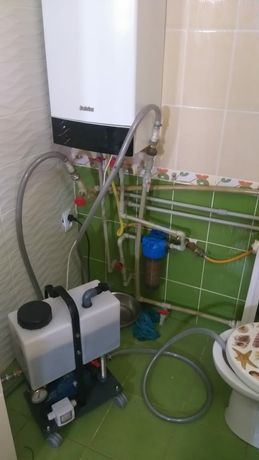 Ремонт котлов любой сложности. Промывка отопительной системы.