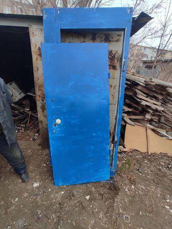 Прием железный двери