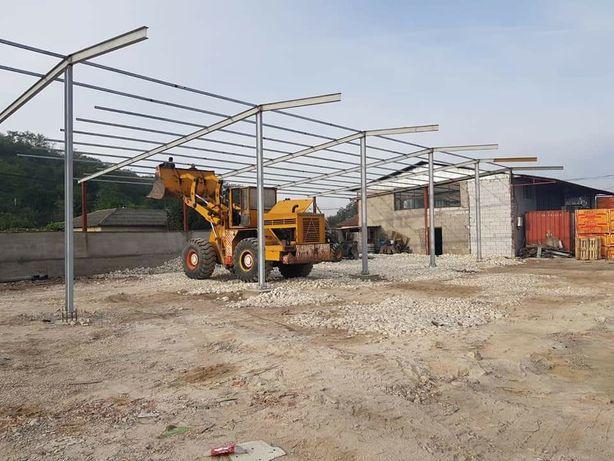 Structura hala pentru garaje utilaje agricole