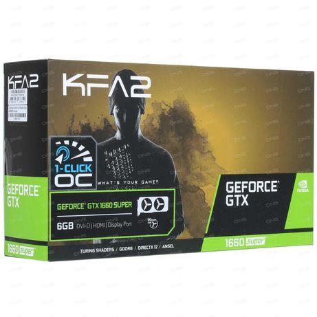 Видеокарта KFA2 GeForce GTX 1660 SUPER 1-click OC